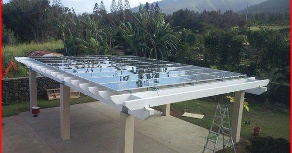 Pergola With Roof Plans Pergolakitsarizona Product Id 1047536417 Pergolashadecanopy Solar Panels Photovoltaic Panels