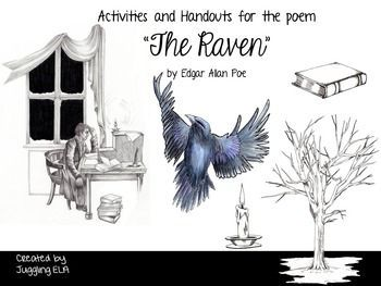 Activities And Handouts For The Poem The Raven By Edgar Allan