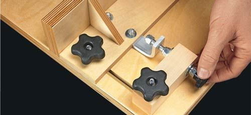 Micro adjust your router table fence plans for the shop for Diy dremel router table