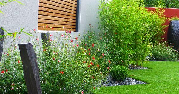 Paysagiste vend e cloture clair voie piquet ardoise mouilleron le captif en vend e jardin - Cloture jardin angers ...