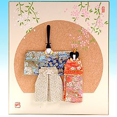 Japan Papir Origami Aya Termeszetesen ひなまつり 折り紙 ひな祭り クラフト お雛様 手作り