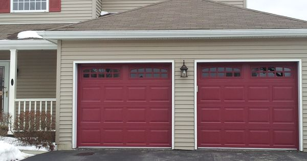 Raynor Opticolor Garage Door Colors Red Garage Door Garage Doors