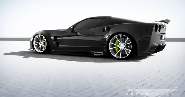Corvette GT6X by Supervettes. Yea I love fast cars!