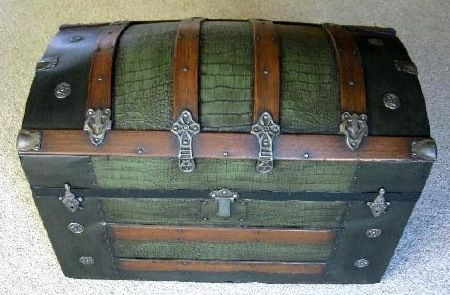 Antique Trunk Restoration Antique Trunk Restoration Antique Trunk Antique Steamer Trunk
