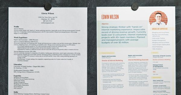 Resume tutorial. We are becoming such a visual society. Having a well