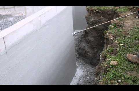 Waterproofing Foundation Wall Foundation Coating Basement Waterproofing Deco Seal Waterproofing Basement Sealing Basement Walls Concrete Basement Walls