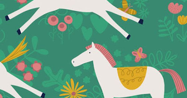 Horse Horse Animal Farm Horse Horses Farm Fabric Printed by Spoonflower BTY