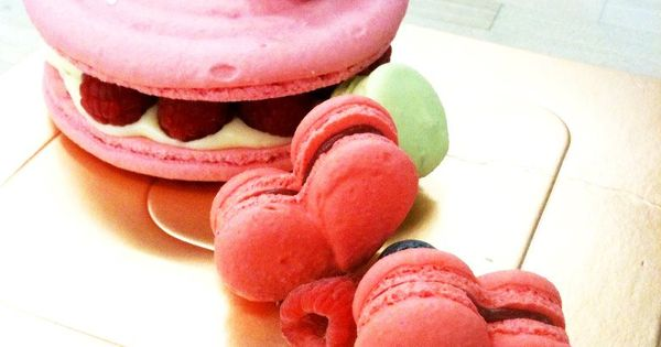 Fruit and Macaroons on Pinterest