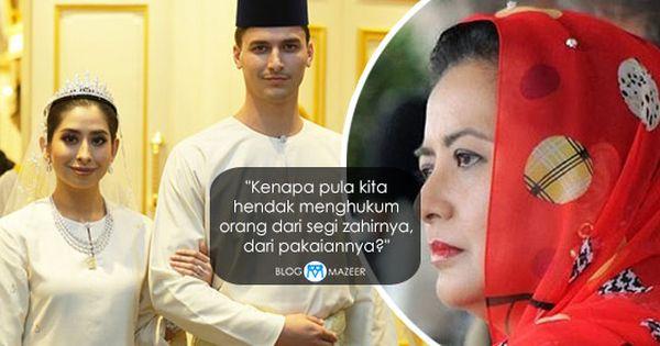 Pakaian Tunku Tun Aminah Kena Kritik Ini Jawapan Padu Permaisuri