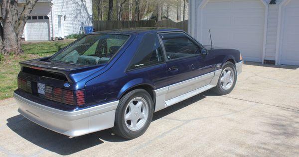 1993 ford mustang gt royal blue titanium rare color combo. Black Bedroom Furniture Sets. Home Design Ideas