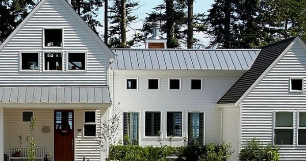 Modernes bauernhaus haus and modern on pinterest for Modernes bauernhaus