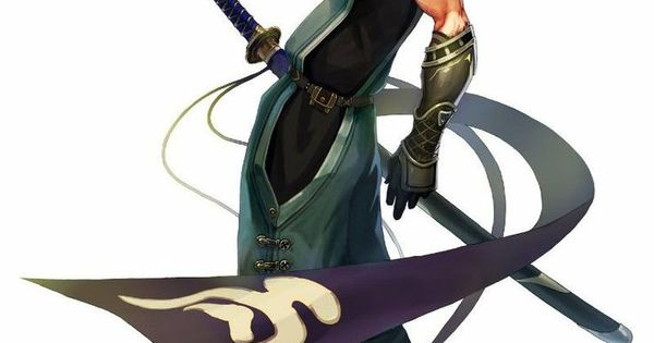 anime guy with white hair and sword google search fox
