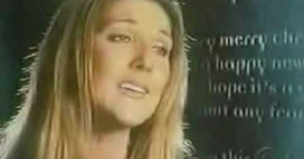 And So This Is Christmas Celine Dion Christmas Song Gloria