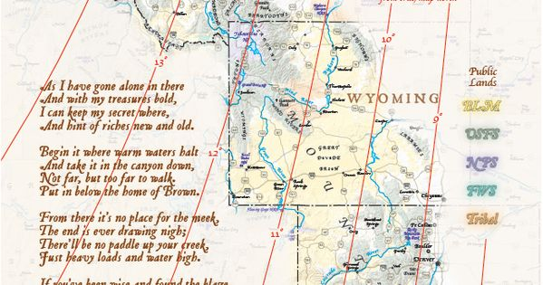 Name Fenn Treasure Map Png Views 27573 Size 928 2 Kb