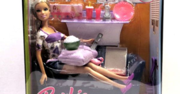 Barbie My House Couch Doll Popcorn Pizza And More Ebay