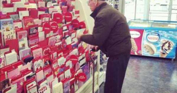 "true love never dies;""So today I was in Hallmark buying my mom"