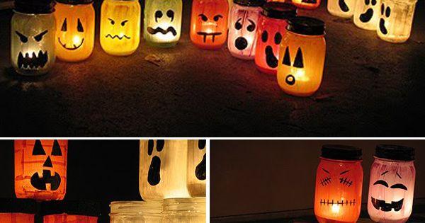 ... faciles à réaliser pour la maison  Awesome, Halloween and Halloween