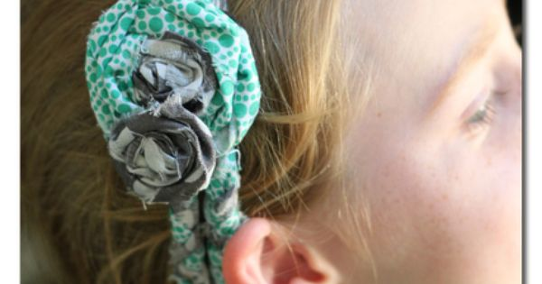 No-sew Braided Headbands (camp craft idea)