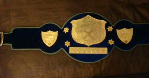 Wwwf World Heavyweight Championship Belt Wrestling Wwe Wwf