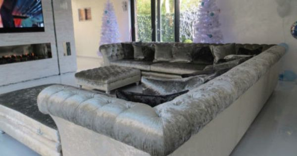 Crushed Velvet Corner Sofa L Shape Sofa U Shape Sofa Designer James And Rose U Shaped Sofa L Shaped Sofa Velvet Corner Sofa