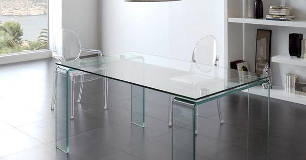 Mesas de cristal para comedor salon lisitea decoracion - Salon comedor decoracion ...