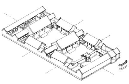 Image result for house plans with multiple courtyards in ... on art eye view, balloons eye view, 1 point perspective worms eye view, worm's eye view, point of view, nature eye view, buildings eye view, birds of the smithsonian national zoo, frogs eye view,