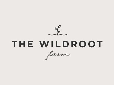 The Wildroot Farm Logo Farm Logo Logos Design Logo Design