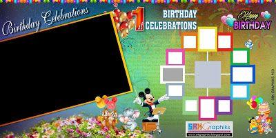 12 Months Birthday Flex Banner Design Psd Template Free Download Flex Banner Design Banner Design Happy Birthday Design
