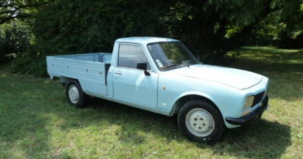 peugeot 504 pick up 1989 french commercial vehicles trucks lorry camion pinterest. Black Bedroom Furniture Sets. Home Design Ideas