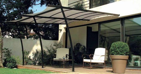 Tonnelle Adoss E Sydney En Acier 3 5 X 4m Toile Renforc E Pergolas Et Tonnelles Pinterest