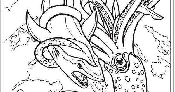 Welcome to Dover Publications - 3D coloring book Sharks ...