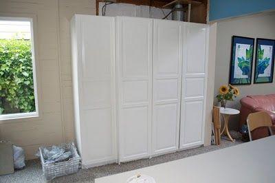 Cabinet To Hide The Boiler And Fuse Box Keller Renovieren Sicherungskasten Schrank