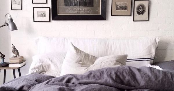 cozy bed styling. The White Room in Fitzroy, Melbourne