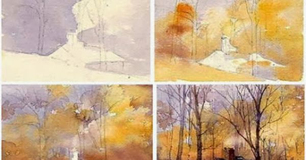 A Watercolor Landscape Demonstration By Mary Ann Boysen