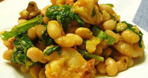 Roasted tomatoes, White beans and Shrimp on Pinterest