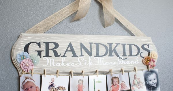 Awesome Grandparent gift. Family Spotlight Photo Display Tutorial