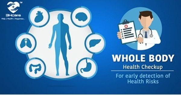 Whole Body Health Checkup Checkup Body Health Preventative Health
