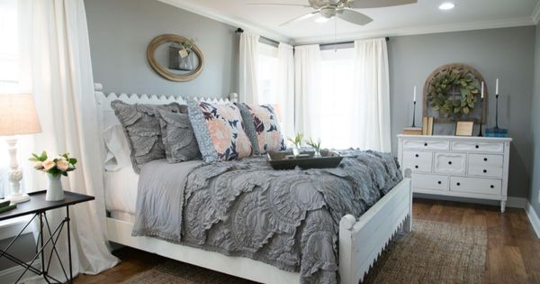 Fixer Upper Gray Paint Colors Master Bedroom And Joanna Gaines