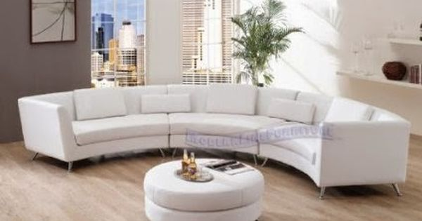 Modern Curved Sofa Reviews Small Curved Sofa For Bay Window Round Sofa Living Room Sets Furniture White Leather Sofas