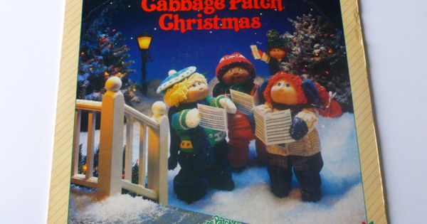 Christmas Records Cabbage Patch Kids A Cabbage Patch Christmas Etsy Christmas Vinyl Cabbage Patch Kids Patch Kids