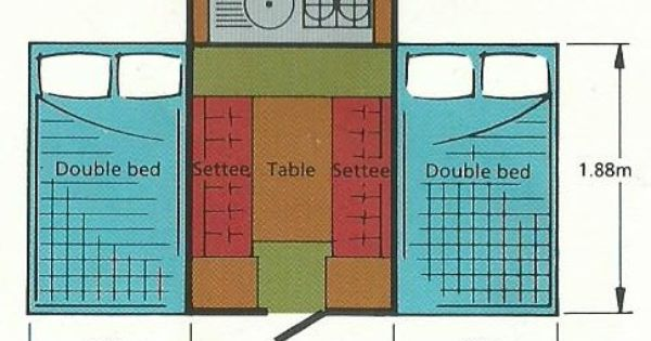 Pin By Kim Lisa Thompson On Pop Up Camper Ideas Pop Up Camper Double Beds Floor Plans