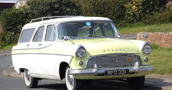 Ford Consul Mk2 Estate Readi Bay Net Classic