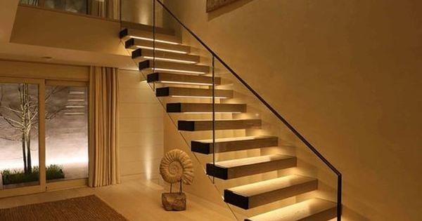Ventajas de la iluminaci n led eficiencia energ tica - Iluminacion led escaleras ...