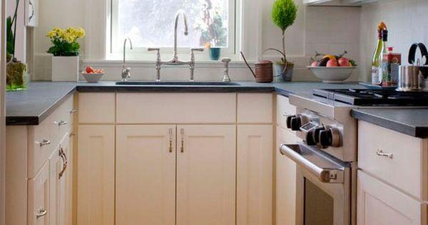 Cocinas cuadradas en u c mo distribuirlas cocina - Cocinas pequenas cuadradas ...