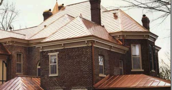 Designties Hooked On Copper Copper Roof House Copper Roof Copper Metal Roof