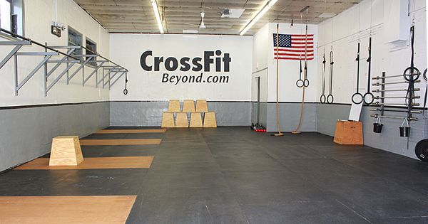 Crossfit gym someday i would like to work up owning a