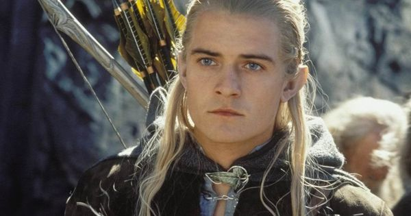 Legolas Greenleaf (Orlando Bloom) in The Lord of the Rings: The Two