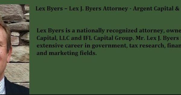 Lex Byers  Lex J Byers  Free Download \ Streaming Financial - retirement programs