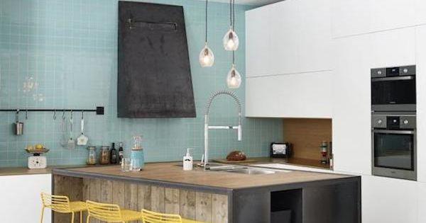 Keukeneiland met bar interieur blog pinterest keukeneiland bar en keuken - Keuken open concept ...