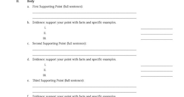 academic argumentative essay outline Academic essay structures & formats standard american argumentative essays begin with an introduction that gives a main point (thesis) the thesis is.
